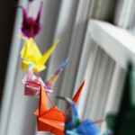 DIY: Wedding Cranes