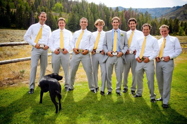 Cowboy Groomsmen When it comes to groomsmen