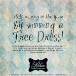 Giveaway: Blue Bridal Couture