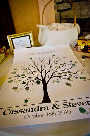 Have your guests sign cards and place them in a keepsake box or book