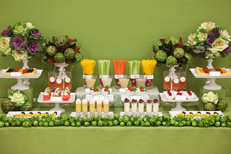 Well today I 39m inspired by vegetable weddings What a great idea it would