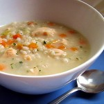 Crock Pot Chicken Soup with Pearl Barley