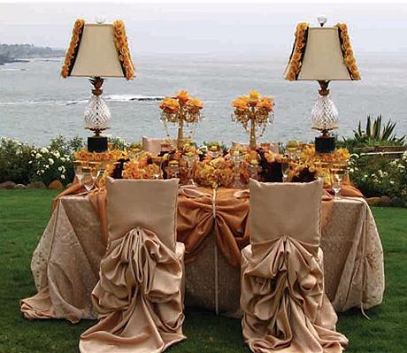wedding chair cover ideas