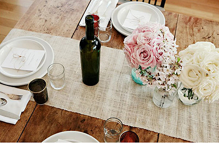 Affordable Table Runner Ideas Lucy Dylan Weddings