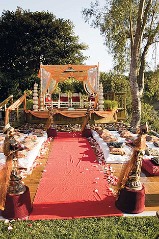 I've always loved Indian weddings The detail and colors that go into the