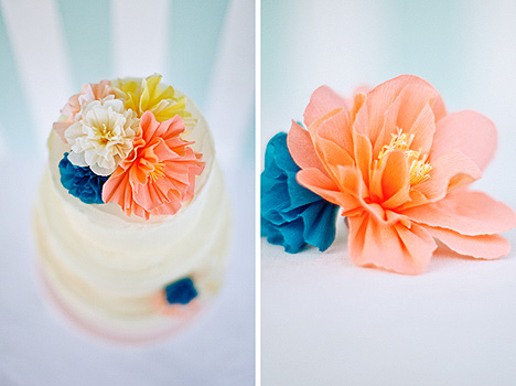 How to make paper fabric flowers check out martha stewarts how to make paper and fabric wedding flowers gallery mightylinksfo