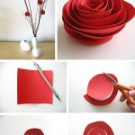 How to Make Paper & Fabric Flowers