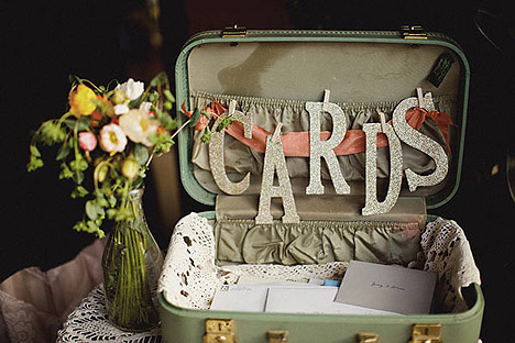 Crazy About Vintage Suitcase Trunks After The Wedding!