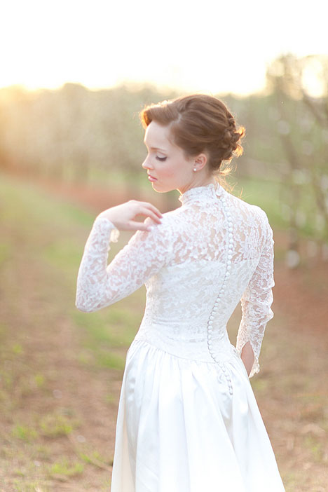 Real Alabama Bridal Session Emma Justin