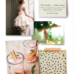 Minted's Wedding Inspiration Board Challenge