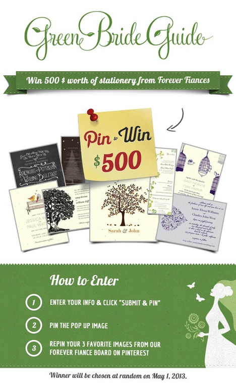 greenbrideguideweddinginvitationgiveaway