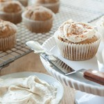 Frosted Spiced Cupcakes
