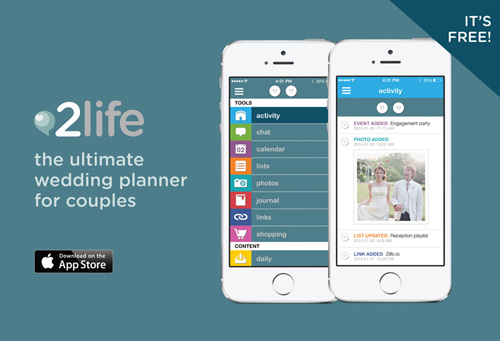 Wedding Planning App.Introducing 2life Ultimate Wedding Planner For Couples