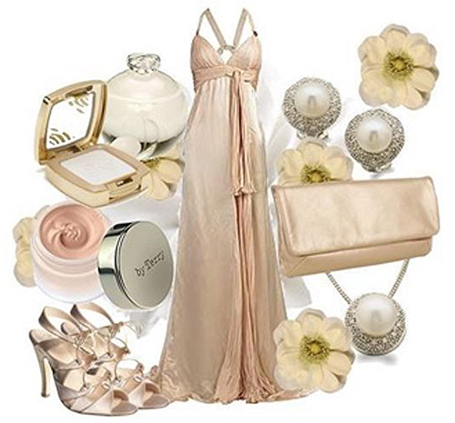 pearls on your wedding day