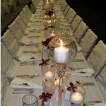 "Wedding Dining: The ""Tucking In"" Trend"