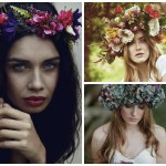 Crazy About Oversized Floral Crowns!