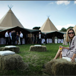 wedding teepee pictures