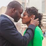 Real Uptown Charlotte Engagement: Jinitza & Brenton