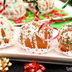 Christmas Caramel Apples