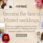 Giveaway: Become the face of Minted weddings!
