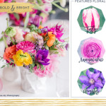 Bold and Bright Wedding Centerpiece Ideas