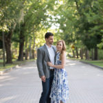 Real Mead Botanical Garden Engagement: Emily & John