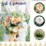 Soft & Feminine Fall Wedding Flowers