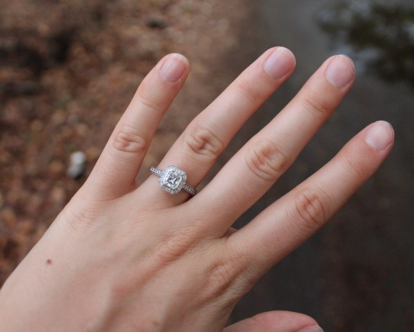 Emerald Cut Diamond Wedding Ring 35 Marvelous
