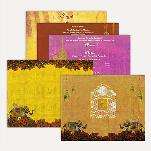 South Indian Wedding Invitation Cards: Add Uniqueness To Your Cards!